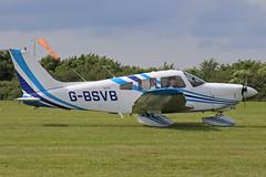 G-BSVB Piper PA28-181 Cherokee Archer II Aeroexpo Booker (High Wycombe) 15th June 2018 (michael_hibbins) Tags: gbsvb piper pa28181 cherokee archer ii aeroexpo booker high wycombe 15th june 2018 g british britain uk england english general civil prop props single aircraft aeroplane aviation aerospace airplane air aero airshow