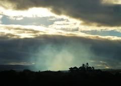Smoke in Sunlight..x (Lisa@Lethen) Tags: burning heather hills windy weather silhouettes smoke sunlight