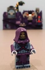 Skeletor is Coming Home (Hobbestimus) Tags: heman mastersoftheuniverse skeletor snakemountain 80s toys cartoon lego moc