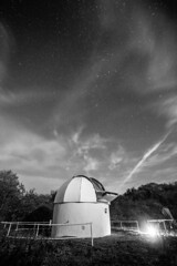 Seething this evening. (StuMcP) Tags: seething dark cloudy norfolk space noise stars clouds telescope mono stuartmcpherson