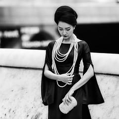 Seoul (ale neri) Tags: street portrait blackandwhite aleneri girl women people asian korean fashionweek seoul korea bw alessandroneri