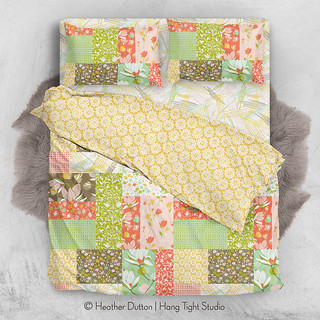 Southern Hospitality Cheater Quilt