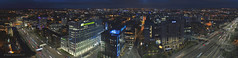 Scottish Power Hq Panorama (Steven Mcgrath (Glesgastef)) Tags: glasgow scotland uk europe dji phantom 4 pro plus phantom4proplus drone ariel aerial night lights scottish power hq motorway