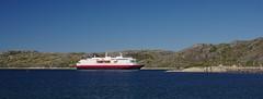 Hurtigruten (sfryers) Tags: ship coastal ferry hurtigruten water north sea arctic summer bodø norway smc pentaxfa 35mm 12