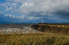 At The End Of ... (BGDL) Tags: lightroomcc nikond7000 bgdl landscape nikkor18105mm3556g seascape ayr harbour lighthouse firthofclyde arran