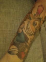 My Crash tattoo (Meme Genie) Tags: gaming playstation tattoo tattootuesday