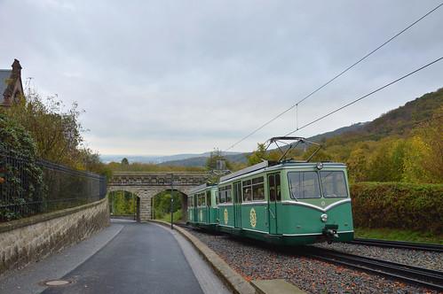 Drachenfelsbahn ET 5 + ET 6 - La cremagliera del drago