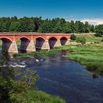 Venta-Brücke in Kuldiga (Lettland) thumbnail