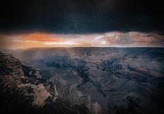 Grand Canyon and the rain (max tuta noronha) Tags: arizona explorearizona grandcanyon halloween hole deep buraco abysm godexists landscape outdoor rocks rochas montanha abismo