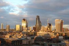 London - The City (mda'skaly) Tags: london londres urban photograpy architecture bâtiments sunset coucherdesoleil thecity quartierdaffaires