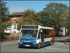 47508, St.James Mill Road (Jason 87030) Tags: optare solo towcester 88 eggs northampton northants northamptonshire red white blue orange stjamesmillroad september 2018 service route kx57kga 47508