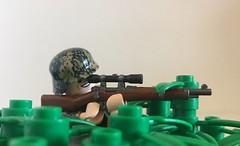 Gute Nacht... (Wehrabricks) Tags: lego wwii german sniper ss