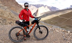 Descending Sirsir Pass, 4826m, image: S Jigmet