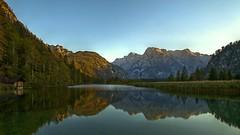 Almsee (Erich Hochstöger) Tags: almsee see bergsee berge gebirge wald natur idyll österreich oberösterreich almtal abend abendstimmung spiegelung lake mountains forest nature austria evening eveningmood reflection