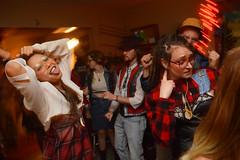 As the party is getting started (radargeek) Tags: prairierebellion fashion fashionshow 2018 february houseparty roundabout okc oklahomacity plaid tongue beard jewelry