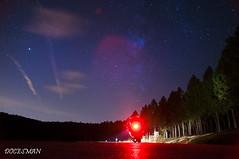 Noche (DOCESMAN) Tags: moto bike motor motorcycle motorrad motorcykel moottoripyörä motorkerékpár motocykel mototsikl honda nt700v ntv700 deauville docesman danidoces noche night nocturnaestrellas stars cielo sky