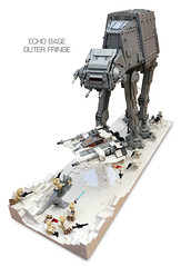 Echo Base Outer Fringe 3 (Rubblemaker) Tags: moc lego starwars star wars toys building blocks atat hoth