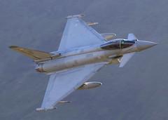 Tatty Tiffy (Treflyn) Tags: mach loop wales tatty tiffy workstained raf eurofighter typhoon fgr4 zj942