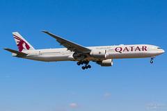 A7-BEU Qatar Airways B777-300ER, EGLL, United Kingdom (Sebastian Viinikainen.) Tags: a7beu qatarairways b777300er egll unitedkingdom londonheathrow heavy