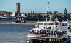 Ballet of the Mersey Ferries (Phil Longfoot Photography) Tags: merseyferry merseyferries liverpool transport merseyside rivermersey ferries