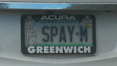 CT - SPAY-M (blazer8696) Tags: 2018 acura berkshire ct connecticut dscn3992 ecw rox spaym sandyhook t2018 usa unitedstates license plate vanity