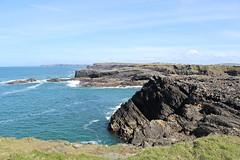 More cliffs (debstromquist) Tags: cliffs atlanticocean countyclare ireland wildatlanticway bridgesofross spring