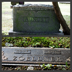 A and Z (Just Say Jules!) Tags: photochallenge october cemetery graveyard oakwoodcemetery saginawmichigan