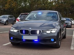 Greater Manchester Police Unmarked BMW 330d Traffic Car. (Vinnyman1) Tags: greater manchester police unmarked gmp bmw 330d traffic car operations wmp rpu roads policing unit road crime anpr automatic number plate recognition cctv closed circuit television ess emergency services show 2018 nec national exhibtion centre fire ambulance birmingham west midlands england uk united kingdom gb great britain