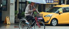 1013_027 (solarliu) Tags: taiwan fog rainy rain trip journey damp blue train bus station snap people passerby 雨傘 街道