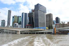 Brisbane city skyline from the Brisbane River (philip.mallis) Tags: brisbane river brisbaneriver city skyline