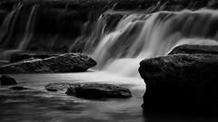 Silk (Jim Nix / Nomadic Pursuits) Tags: jimnix austin bullcreekgreenbelt waterfall longexposure monochrome