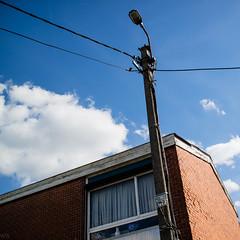 A brick house (wim.schaut) Tags: cloud vase lamppost lokeren window flandreorientale belgium house brick flandres flanders belgië vlaanderen flandre oostvlaanderen