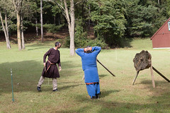 GG&G Carillion SCA 10-13-18-30 (Philip H Levy) Tags: sca knight battle tournament swordfighting throwingax middleages medieval darkages renaissance ax spear sword polearm armor fight fighting martialarts eastkingdom kingdom carillion reenactor