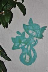 IMG_8284 rue de Moussy Paris 04 (meuh1246) Tags: streetart paris animaux ruedemoussy paris04 chat