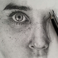 Pencil Drawing By Monica Lee (katalaynet) Tags: follow happy me fun photooftheday beautiful love friends