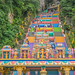 Entrance Gate to the colorful Stairs of Batu Caves in Kuala Lumpur