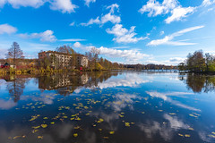 Blue (gubanov77) Tags: nature lake russia petushinskiyraion vladimiroblast pokrov october vvedensky vvedenskoe