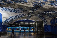 La fermata (cesco.pb) Tags: stoccolma stockholm svezia sweden metropolitana canon