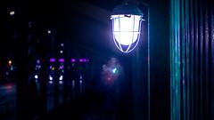 Another world (igor.relsov) Tags: lamp light evening night street another world walk man