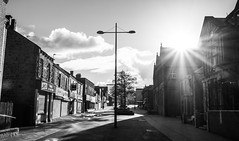 Out and about. Stanley. (CWhatPhotos) Tags: cwhatphotos stanley views county durham north east england street clouds cloudy sky olympus digital camera photographs photograph pics pictures pic picture image images foto fotos photography artistic that have which with contain artistc front sunlight sun light quiet flickr