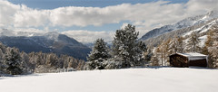 The first snow. (rinogas) Tags: italy sestriere vallesusa snow winter cloud rinogas