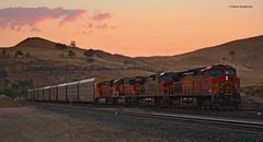 BNSF 5337 ( GE C44-9W ) (vsoe) Tags: eisenbahn bahn züge güterzug güterzugstrecke railway railroad freighttrain engine bnsf up tehachapi california kalifornien usa us amerika america ge emd