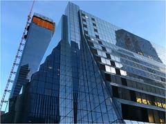 Ziggurat (Chris Protopapas) Tags: iphone hudsonyards nyc ziggurat glass construction architecture manhattan newyorkcity