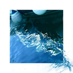 nightfall (claredlgm1) Tags: ripples blue waves sea lines curves zigzag abstract