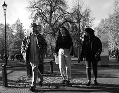 In Parkland (Bury Gardener) Tags: candid cambridgeshire cambridge england uk britain streetphotography street streetcandids snaps strangers candids people peoplewatching folks 2018 nikond7200 nikon bw blackandwhite monochrome mono