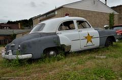 Barney Fife is Here (gregador) Tags: brownsville patrolcar highwaypatrol chevy chevrolet powerglide