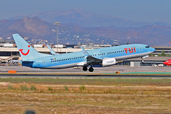 OO-JAA Boeing 737-88KSC TUI Belgium AGP 23-09-18 (PlanecrazyUK) Tags: lemg malaga–costadelsolairport malaga costadelsol oojaa boeing73788ksc tuibelgium agp 230918