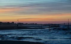 Spiaggia tramonto costa 2 (berightbackblog) Tags: rimini romagna emiliaromagna italia italy mare streetart