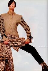 Valentino 1992 (barbiescanner) Tags: vintage retro fashion vintagefashion 90s 90sfashions 1992 valentino lindaevangelista vintagevalentino