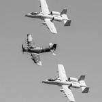 A-10 Heritage Team Bracketing HFM A-1 in B&W thumbnail